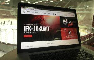IFK:n verkkosivusto uudistui