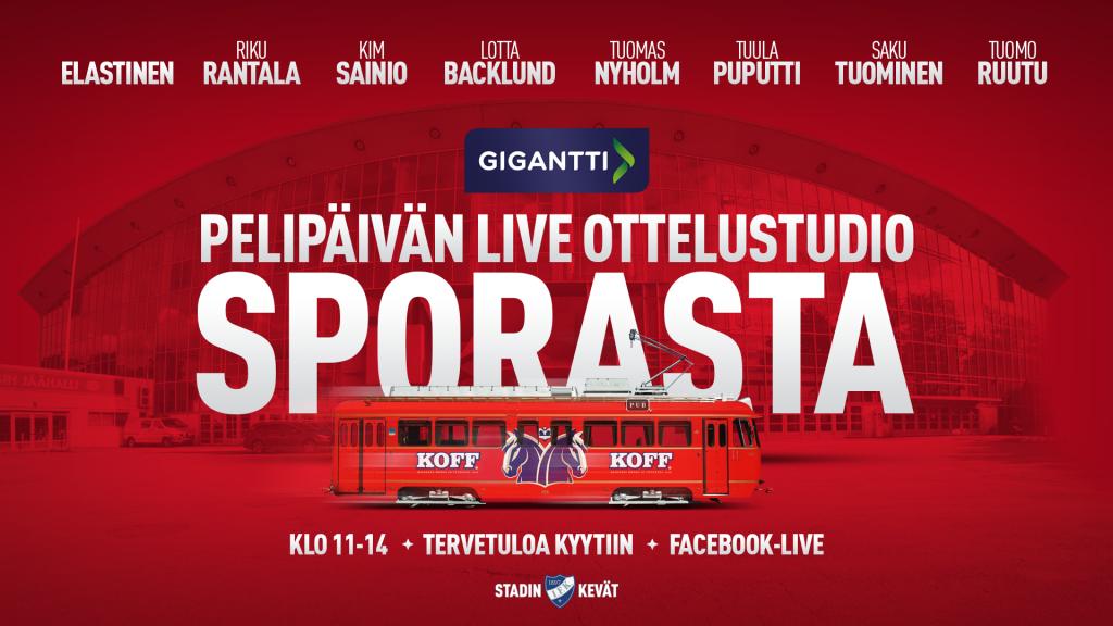 Perjantaina pelipäivän suora lähetys SpåraKOFFISTA IFK:n Facebookissa!