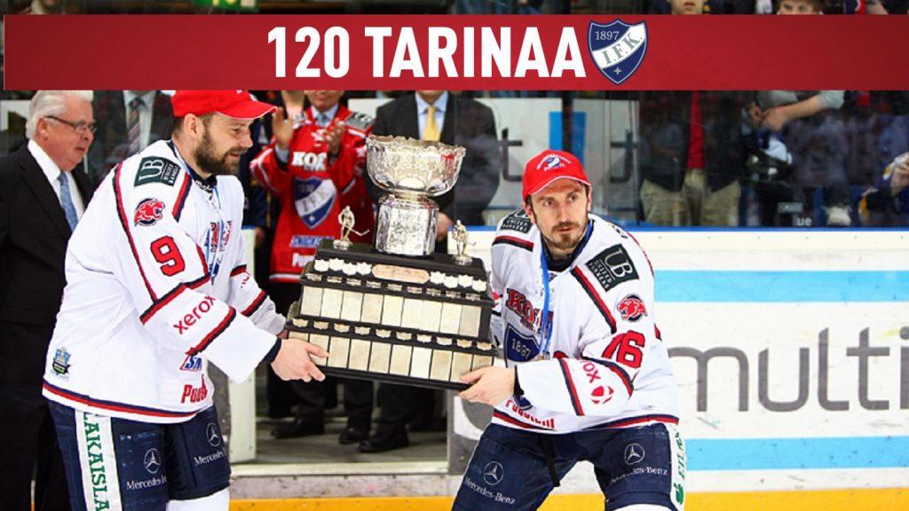 Kattava juttusarja IFK:n historiasta julkaistu – tässä 120 tarinaa!