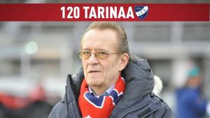 120 tarinaa IFK:sta – osa 115: Henkilökuvassa Frank Moberg