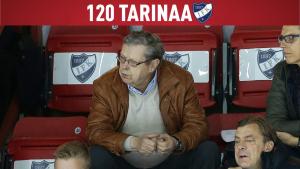 120 tarinaa IFK:sta – osa 116: Henkilökuvassa Göran Stubb