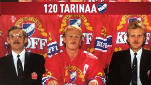 120 tarinaa IFK:sta – osa 118: Kuvassa keskellä Pertti Lehtonen