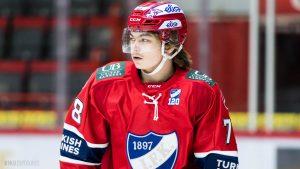 Niklas Nordgren suuntaa NHL-draftiin: Ainutlaatuinen kokemus