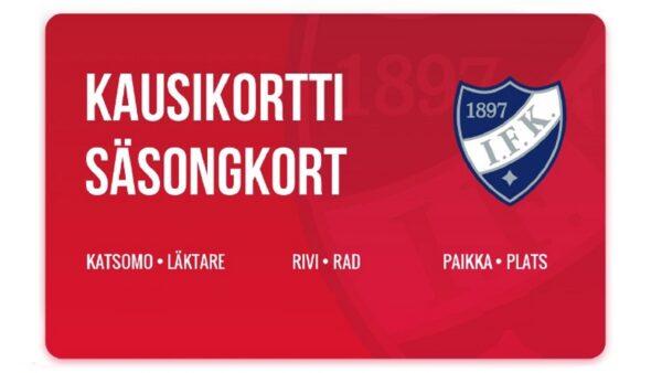 HIFK:n uusi mobiilikausikortti on julkaistu
