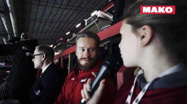 MAKO Skidireportteri vieraili IFK-TPS-matsissa