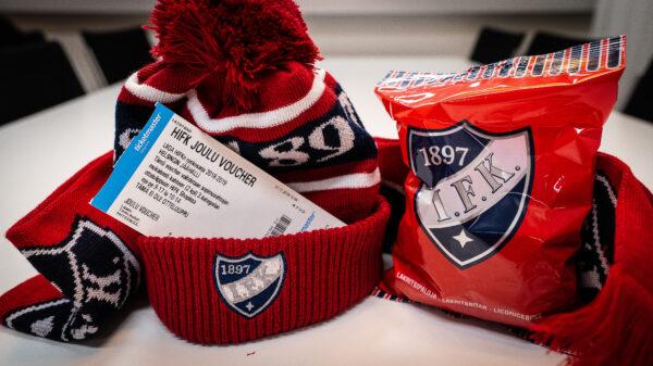 Pukinkontti punaiseksi! HIFK Shopin joulumyyjäiset kahtena sunnuntaina