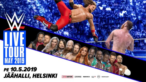 BÄTTRE FOLK: Osta kaksi lippua yhden hinnalla WWE Liveen!