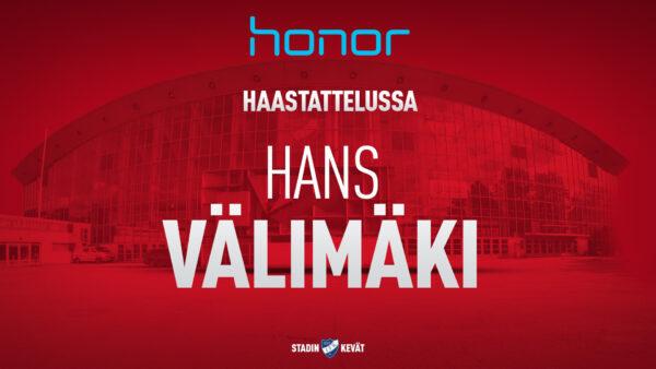Hans Välimäki: IFK–Tappara olisi unelmafinaali
