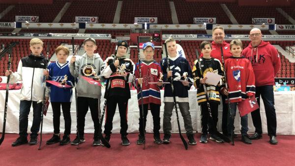 IFK:n ja yhteistyöseurojen juniorit palkittiin Nordiksella – katso kuvat