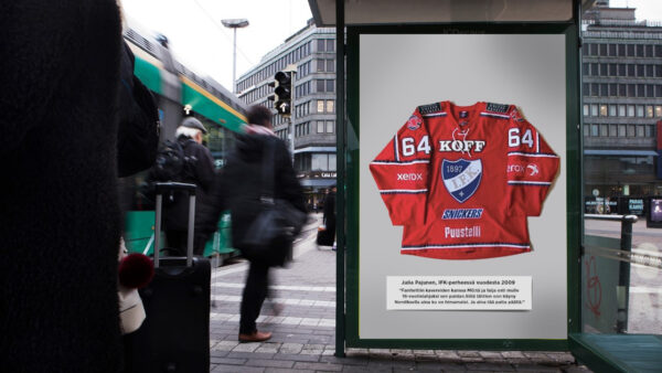 Etsimme tarinoita osaksi IFK:n ulkomainoskampanjaa!