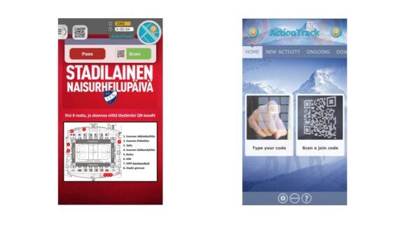 Illan matsissa mukana jännä mobiilipeli – Skannaa koodi ja osallistu!