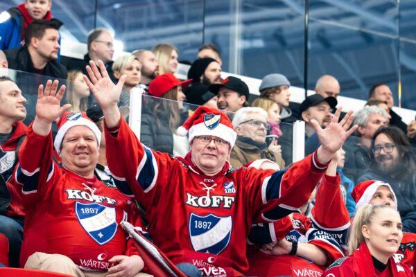 Joulufiiliksiä Turusta – HIFK haki täydet pisteet TPS:n vieraana