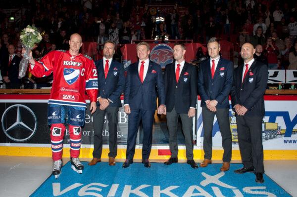 Arttu Luttisesta 38. IFK-kultasormuksen saaja