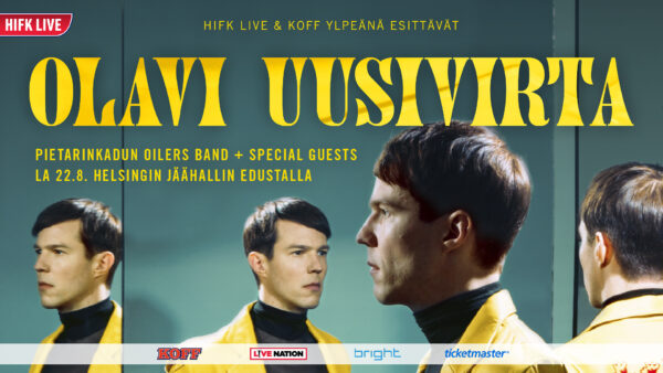 HIFK Live ja KOFF esittää: Olavi Uusivirta 22.8.