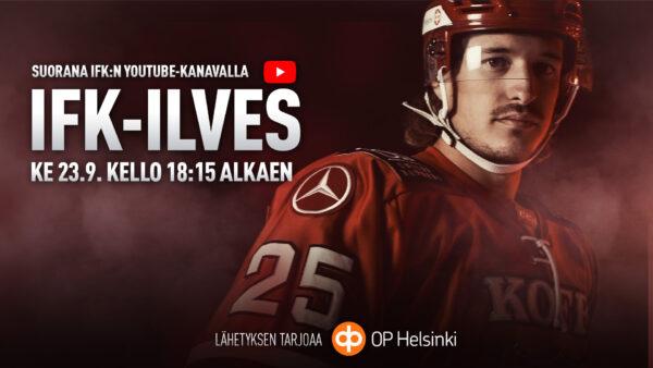 HIFK TV ylpeänä esittää: HIFK-Ilves suorana lähetyksenä!