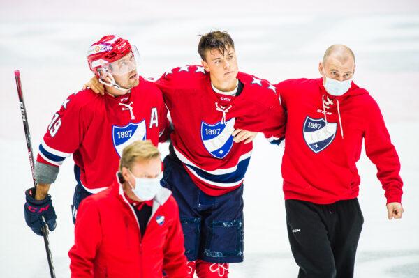 Rasmus Heljanko sivussa 10-12 viikkoa