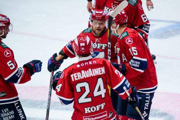 FORENOM MATSIRAPORTTI: Anton Lundell upotti SaiPan – HIFK:lle kolme pinnaa!