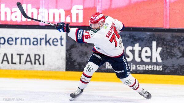 FORENOM MATSIRAPORTTI: Bemström ja Sallinen tulittivat komeasti pisteet HIFK:lle!