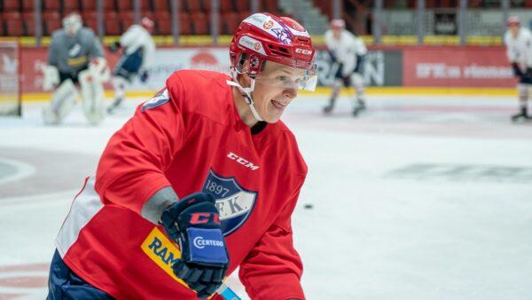 TIEDOTE: Antti Suomela liittyy HIFK:n harjoitusvahvuuteen