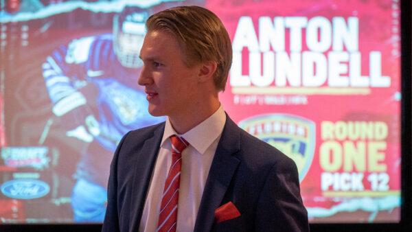 Anton Lundell: Panthers tuli pienenä yllätyksenä