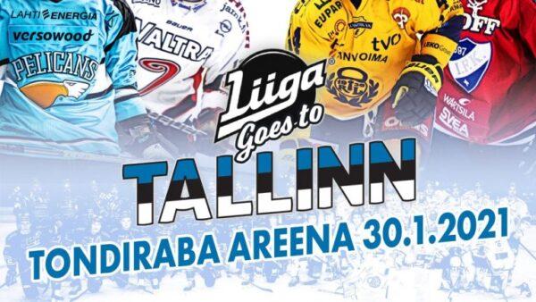 Tammikuulle suunniteltu Liiga goes to Tallinn -tapahtuma on peruttu