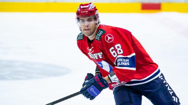 """Joona Luoto nauttii ajastaan HIFK:ssa – """"Pitää olla kiitollinen joka päivä, että saa tehdä töitä ja pelata!"""""""