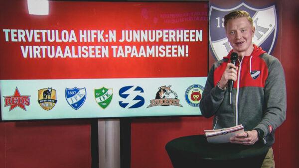 HIFK:n junnuperheen virtuaalinen tapaaminen – Katso tallenne!
