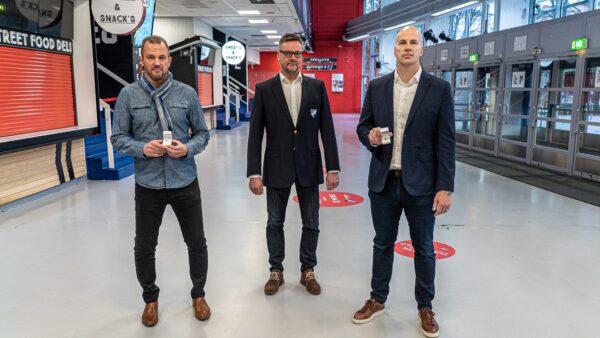 Iiro Järvelle ja Veli-Pekka Kautoselle IFK:n Kultasormukset