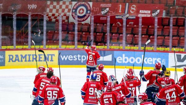 HIFK:lle lisää ottelusiirtoja – kolme kotiottelua siirtyy