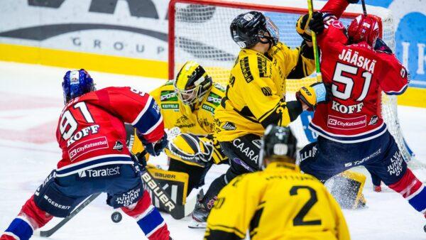 HIFK:n ja KalPan kuuma kohtaaminen Nordiksella – Katso kuvat!