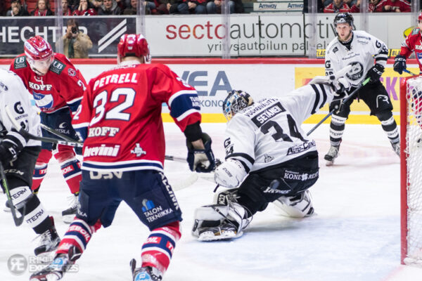 HIFK:n ja TPS:n pudotuspelihistoriassa tasaista vääntöä