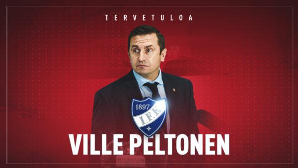 TIEDOTE: Ville Peltonen HIFK:n päävalmentajaksi