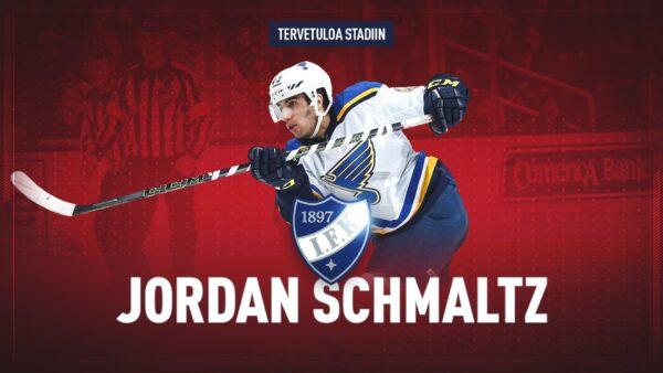TIEDOTE: Yhdysvaltalaispakki Jordan Schmaltz vahvistaa HIFK:n puolustusta